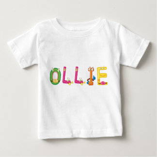 Camiseta Para Bebê T-shirt do bebê de Ollie