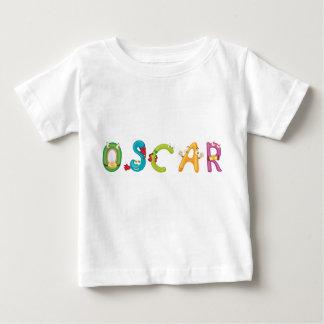 Camiseta Para Bebê T-shirt do bebê de Oscar
