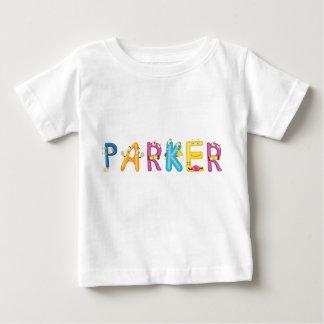 Camiseta Para Bebê T-shirt do bebê de Parker