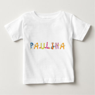 Camiseta Para Bebê T-shirt do bebê de Paulina
