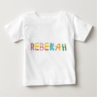 Camiseta Para Bebê T-shirt do bebê de Rebekah