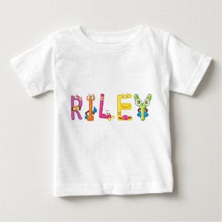 Camiseta Para Bebê T-shirt do bebê de Riley