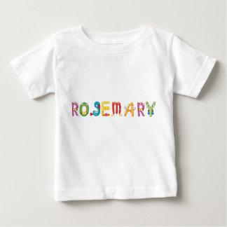 Camiseta Para Bebê T-shirt do bebê de Rosemary