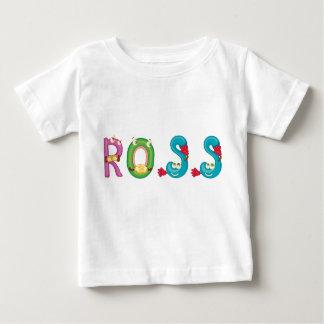 Camiseta Para Bebê T-shirt do bebê de Ross