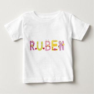 Camiseta Para Bebê T-shirt do bebê de Ruben