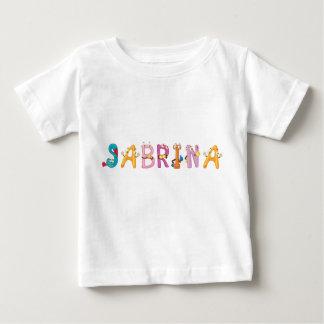 Camiseta Para Bebê T-shirt do bebê de Sabrina