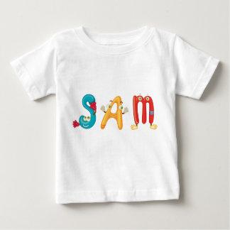 Camiseta Para Bebê T-shirt do bebê de Sam