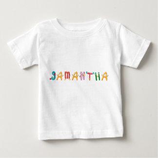 Camiseta Para Bebê T-shirt do bebê de Samantha