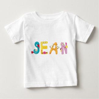 Camiseta Para Bebê T-shirt do bebê de Sean