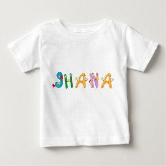 Camiseta Para Bebê T-shirt do bebê de Shana