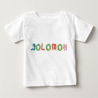 Camiseta Para Bebê T-shirt do bebê de Solomon