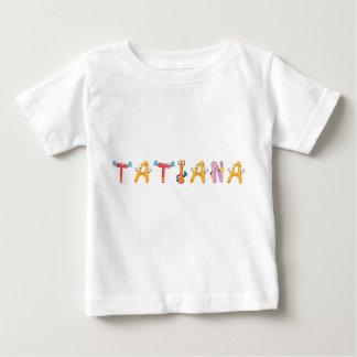 Camiseta Para Bebê T-shirt do bebê de Tatiana