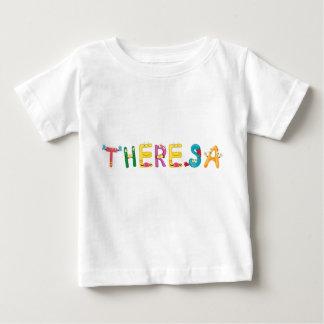 Camiseta Para Bebê T-shirt do bebê de Theresa