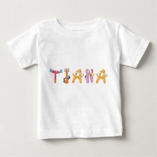 Camiseta Para Bebê T-shirt do bebê de Tiana