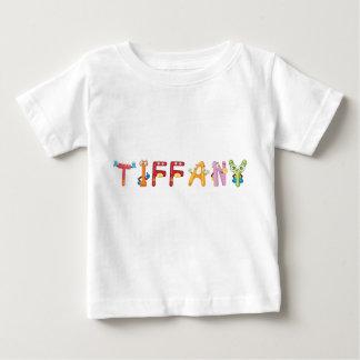 Camiseta Para Bebê T-shirt do bebê de Tiffany