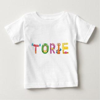 Camiseta Para Bebê T-shirt do bebê de Torie