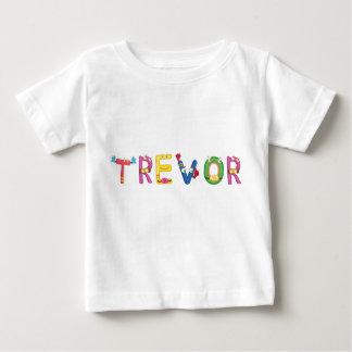 Camiseta Para Bebê T-shirt do bebê de Trevor