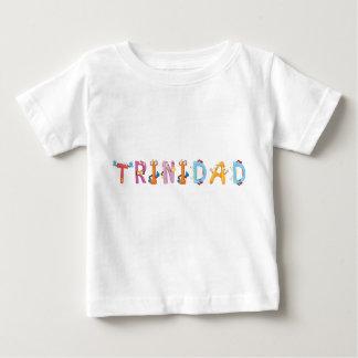 Camiseta Para Bebê T-shirt do bebê de Trinidad