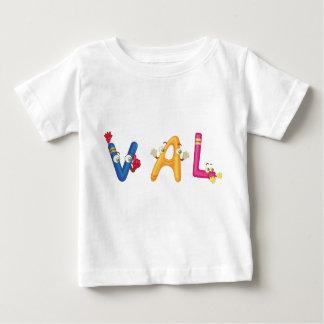 Camiseta Para Bebê T-shirt do bebê de Val