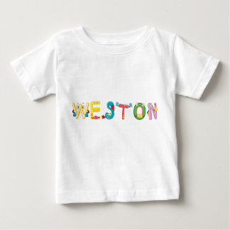 Camiseta Para Bebê T-shirt do bebê de Weston