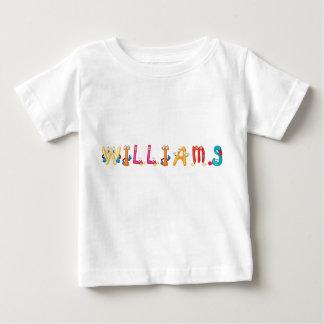 Camiseta Para Bebê T-shirt do bebê de Williams