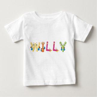 Camiseta Para Bebê T-shirt do bebê de Willy