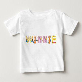 Camiseta Para Bebê T-shirt do bebê de Winnie