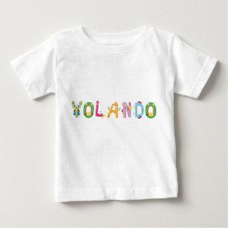 Camiseta Para Bebê T-shirt do bebê de Yolando