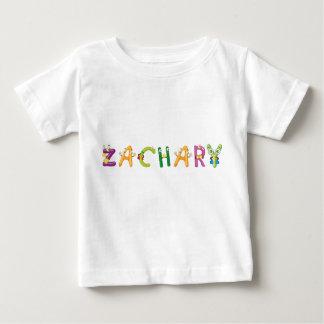 Camiseta Para Bebê T-shirt do bebê de Zachary