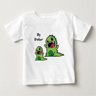Camiseta Para Bebê T-shirt do bebê do big brother