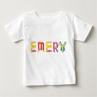 Camiseta Para Bebê T-shirt do bebê do esmeril
