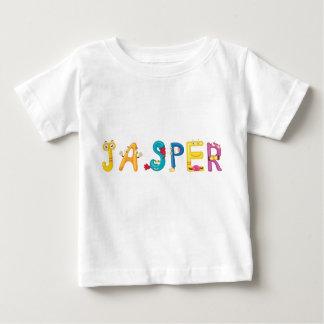 Camiseta Para Bebê T-shirt do bebê do jaspe