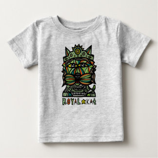 """Camiseta Para Bebê """"T-shirt do bebê do Kat real"""""""