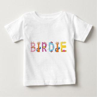 Camiseta Para Bebê T-shirt do bebê do passarinho
