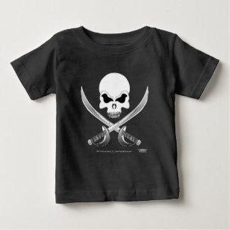 Camiseta Para Bebê T-shirt do bebê do pirata de Kulture® do abutre