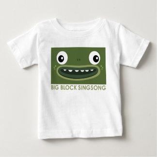 Camiseta Para Bebê T-shirt do bebê do sapo de BBSS