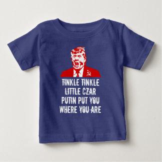 """Camiseta Para Bebê T-shirt do bebê do trunfo: Do """"czar pequeno do"""