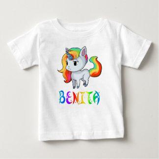 Camiseta Para Bebê T-shirt do bebê do unicórnio de Benita