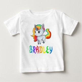 Camiseta Para Bebê T-shirt do bebê do unicórnio de Bradley