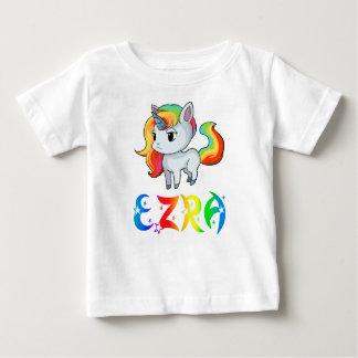 Camiseta Para Bebê T-shirt do bebê do unicórnio de Ezra