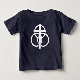 Camiseta Para Bebê T-shirt do bebê: Logotipo moderno