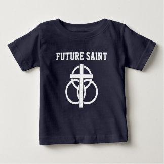 Camiseta Para Bebê T-shirt do bebê: Santo futuro