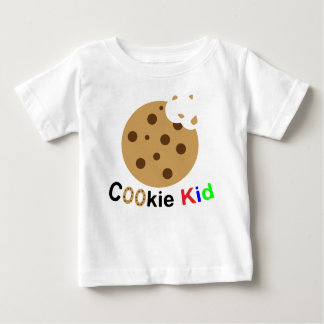 Camiseta Para Bebê T-shirt do biscoito do bebê