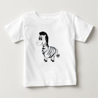 """Camiseta Para Bebê """"T-shirt do caráter da zebra do selo pequeno do"""