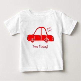 Camiseta Para Bebê T-shirt do carro