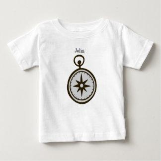 Camiseta Para Bebê t-shirt do compasso