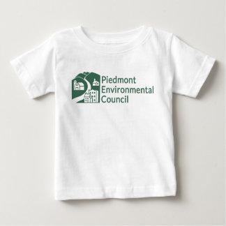 Camiseta Para Bebê T-shirt do CPE - bebê - logotipo verde