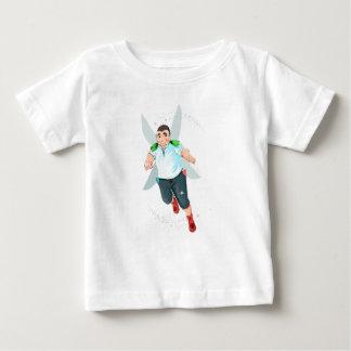 Camiseta Para Bebê T-shirt do jérsei da multa do bebê de Bubba