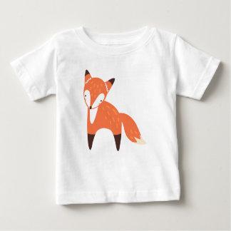 Camiseta Para Bebê T-shirt do jérsei da multa do bebê do Fox