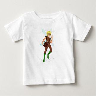 Camiseta Para Bebê T-shirt do jérsei da multa do bebê do funileiro de